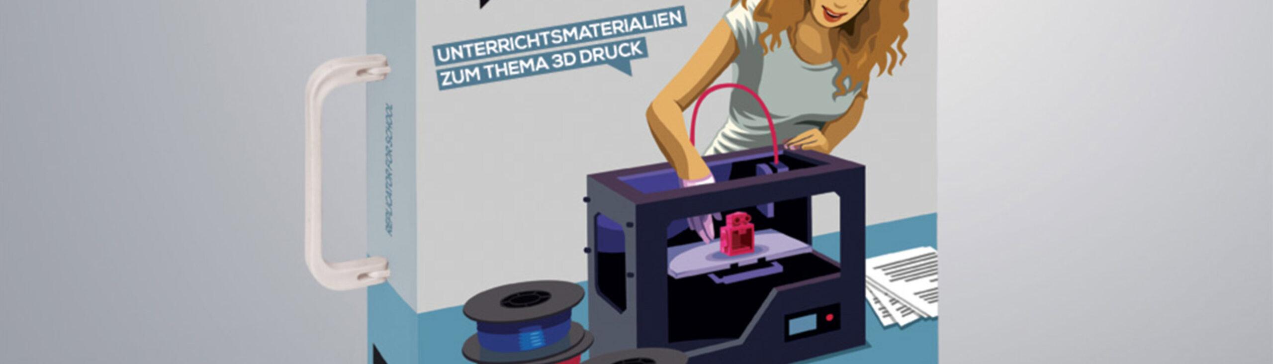 Header 3D-Druck im Klassenzimmer