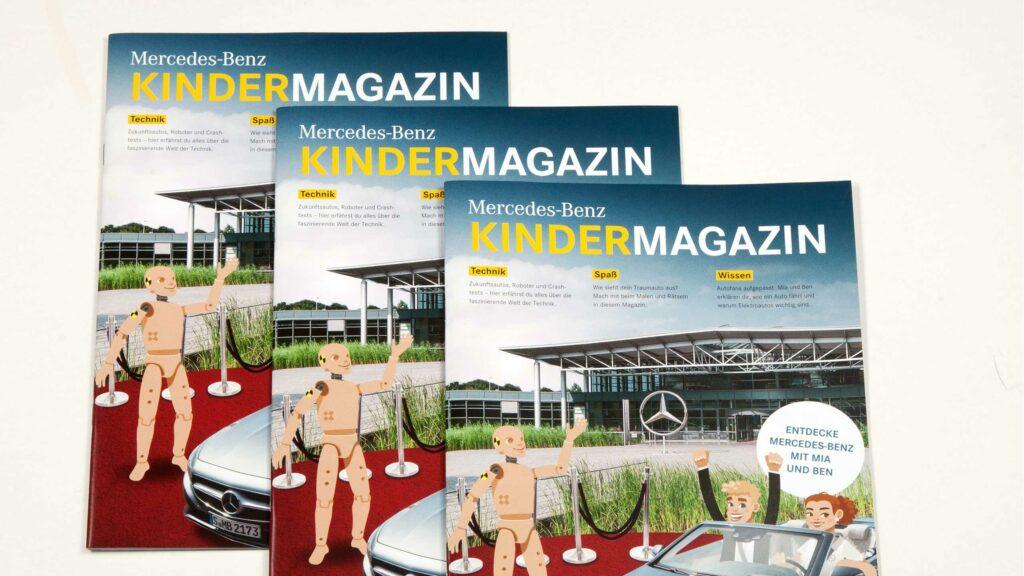 Daimler-Kindermagazin