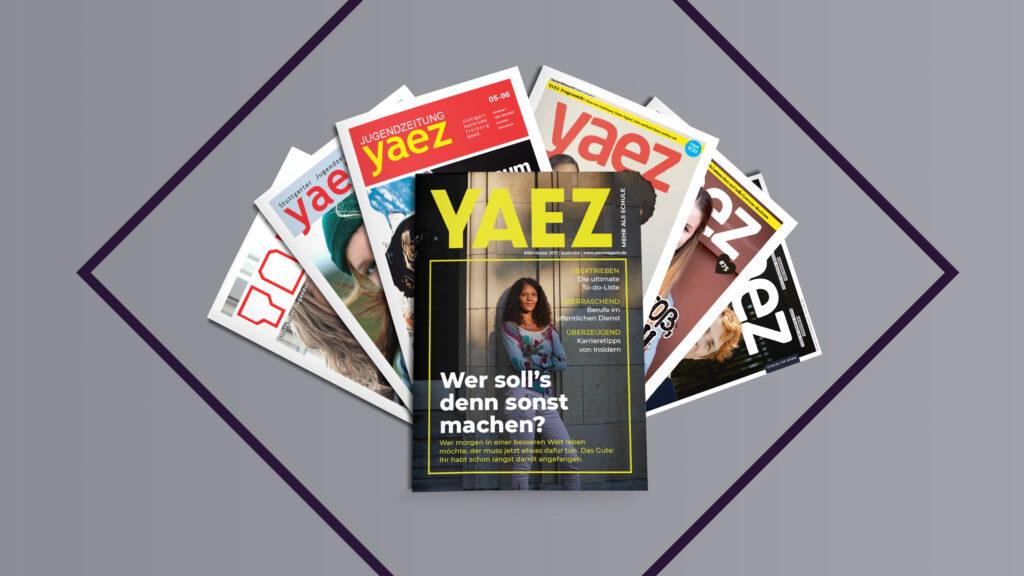 Header YAEZ 100 Ausgaben