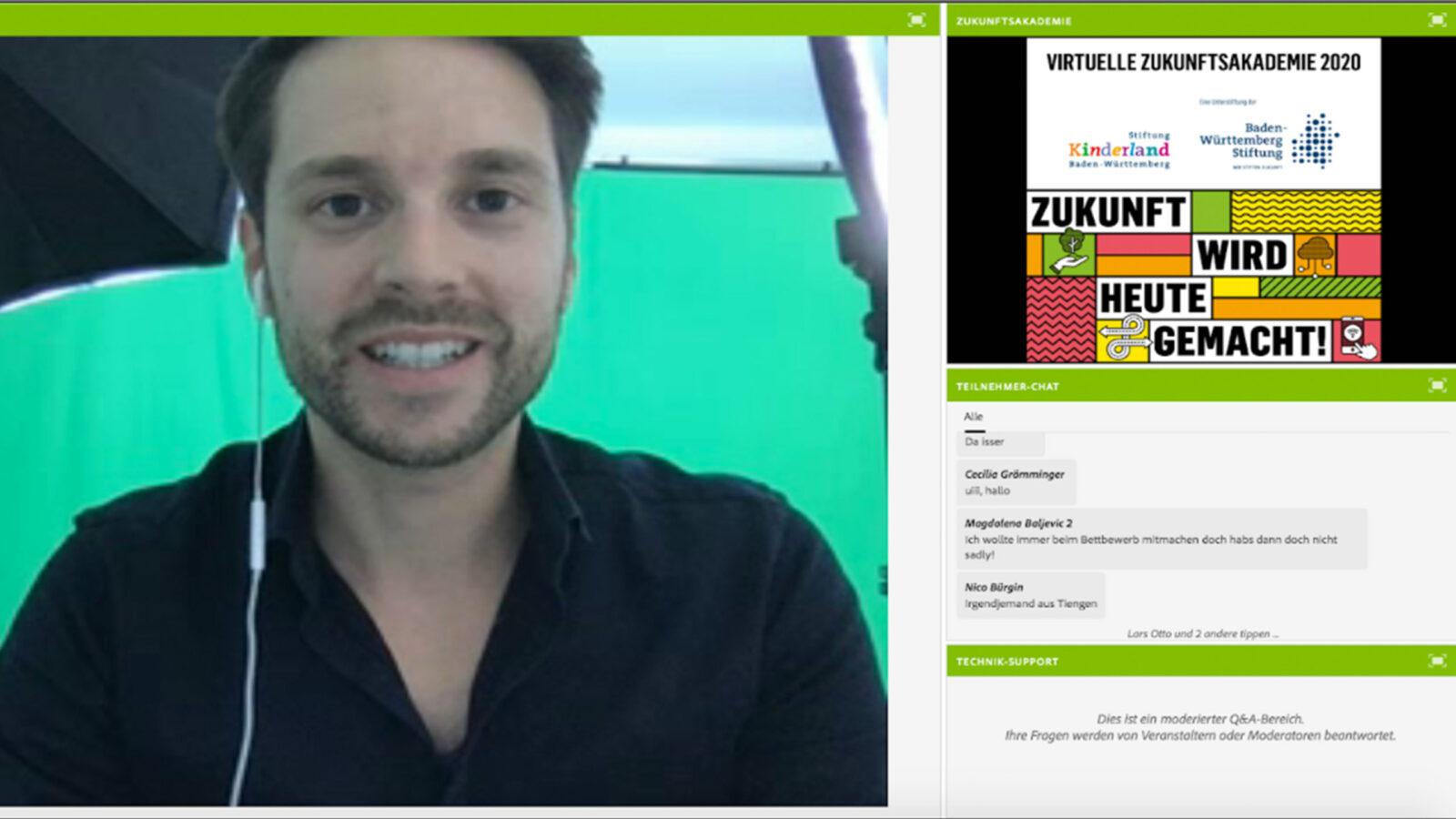 Virtuelle Zukunftsakademie Screenshot
